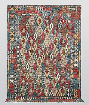 A carpet, kilim, ca 297 x 213 cm.
