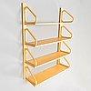Alvar aalto, a late 20th century '112b-4' shelf for artek.