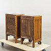 A piar of art deco bedside tables first half of the 20th century.