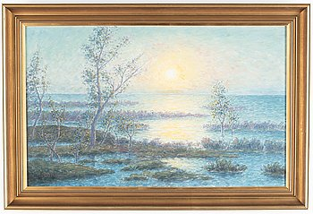 Per Ekström, oil on canvas, signed.