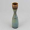 A stig lindberg stoneware vase, gustavsberg studio 1956.