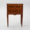 A gustavian style secretaire from the first half of the 20th century.