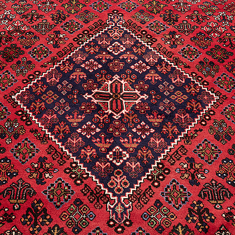 A carpet, meymeh, ca 394 x 295 cm.