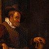 Quiringh gerritsz van brekelenkam, circle of, oil on canvas.