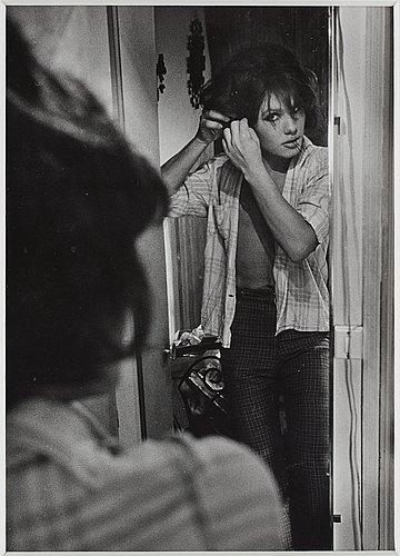 """Christer strömholm, """"tonia, place blanche, paris"""", 1967."""