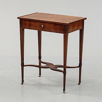 Lars Qvarnberg (verksam 1801-1813), sybord, tidigt 1800-tal.