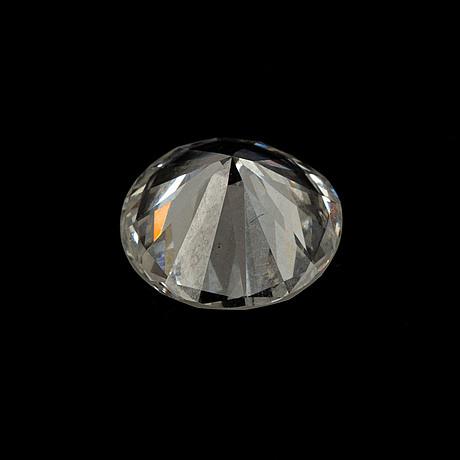 A round brilliant-cut diamond 1.65 ct.