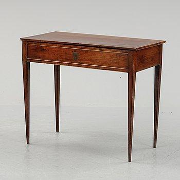 Spelbord, sengustavianskt, omkring år 1800.
