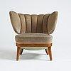 Otto schulz, a swedish modern easy chair, boet gothenburg, 1940's.