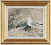 Mosse stoopendaal, oil on canvas, signed and dated -46.