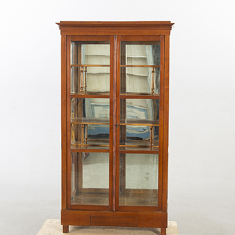 A vitrine later part of the 19th century.