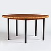 Erik lindgren, a dining table, executed in his own workshop, 1960's.