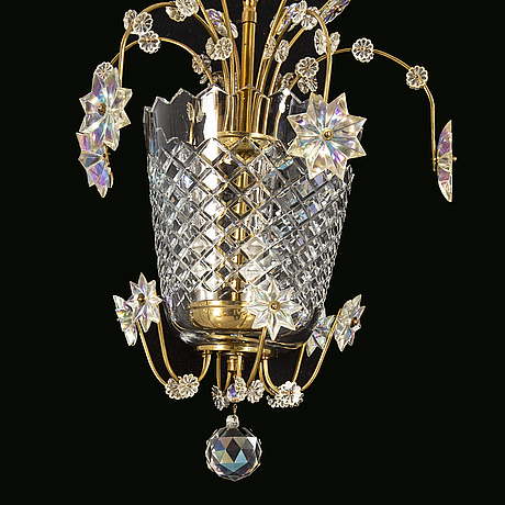 A 1940s ceiling lamp.