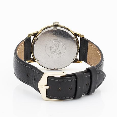 Omega, genève, wristwatch, 34 mm.