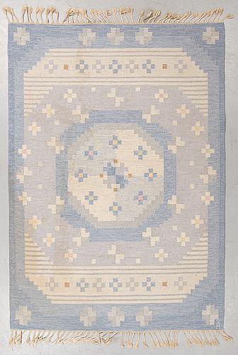 Anna-johanna ångström, matto, flat weave, ca 235-236,5 x 165-166 cm, signed å.