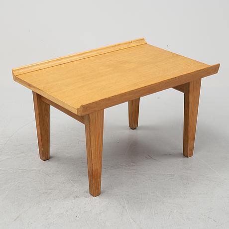 Erik wørts, an oak side table, 'novett', ikea.1960s.
