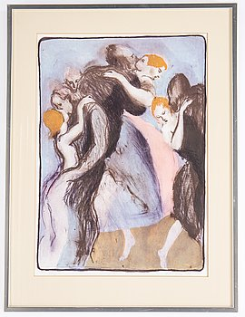 Peter Dahl, lithograph in colours, 1979, signed 134/250.