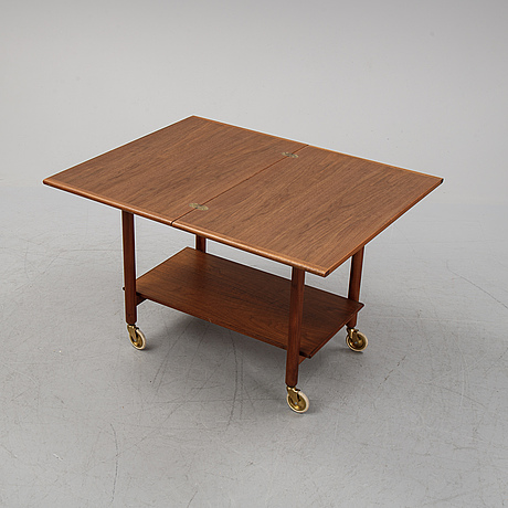 Engström/myrstrand, a 'janus' serving trolley from bra bohag in the second half of the 20th century.