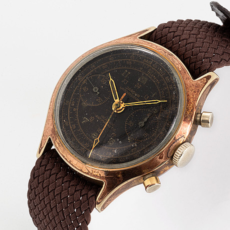 Jardur, wristwatch, chronograph, 37.5 mm.