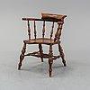 Karmstol, england, 1800-tal.