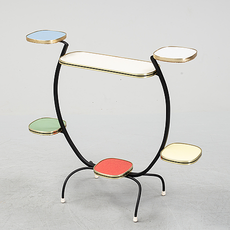 A mid 20th century plant stand.