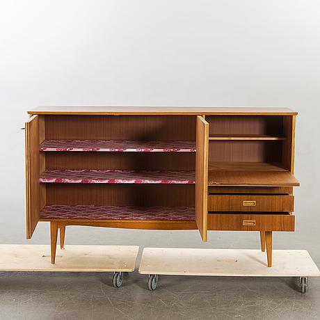 Sideboard, teak och ek, 1950-60-tal.