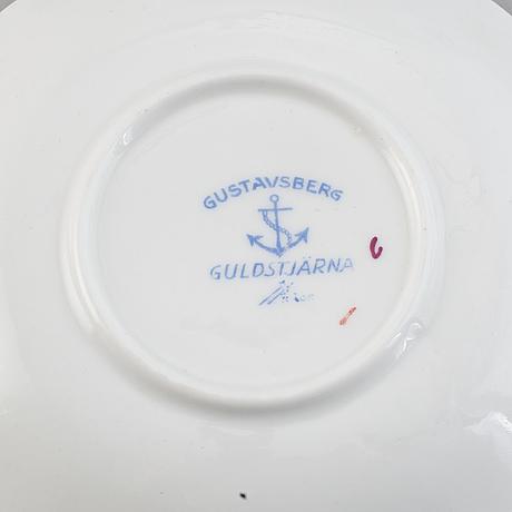 "Wilhelm kåge,98 pieces ""guldstjärna"" gustavsberg."