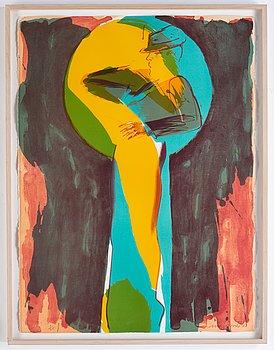Allen Jones, silkscreen, signed, dated -82 and numbered 1/35.