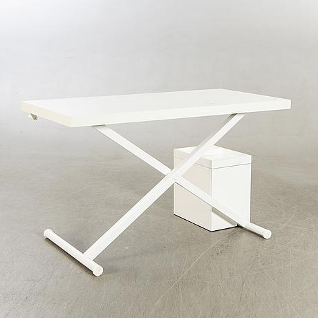 """Lars larsen desk """"x table"""", denmark 2000s."""