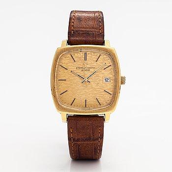 Eterna-Matic, 2002, wristwatch, 34 x 34 mm.