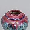 Josef ekberg, a ceramic lidded vase, gustavsberg, 1926.