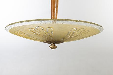 Ceiling luminaire, 1930s / 40s.