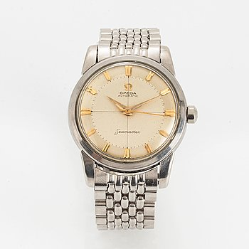Omega, Seamaster, wristwatch, 34 mm.