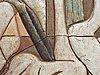 Tyra lundgren, a glazed stoneware relief, sweden, probably 1950's.