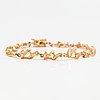 Armband, 14k guld. kultakeskus, tavastehus 1980.