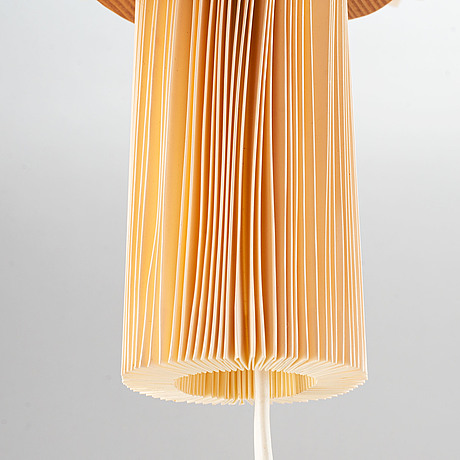 Vilhelm wohlert, a set of two late 20th century model 204 wall lights for le klint, denmark.