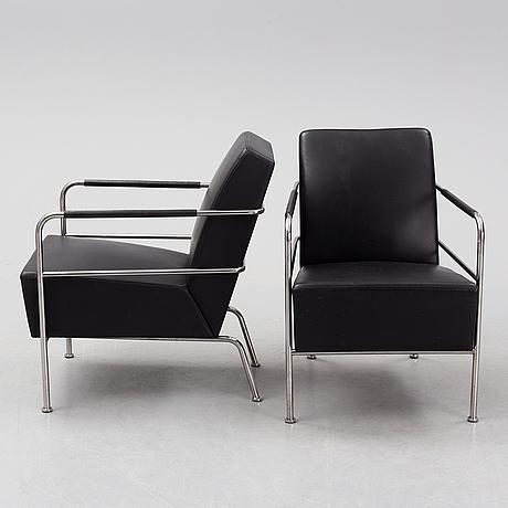 Gunilla allard, a pair of 'cinema' armchairs for lammhults.