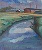 Helny tigerstedt, oil on canvas, signed.