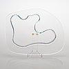 "Alvar aalto, a centenary jubilee glass dish signed and numbered ""alvar aalto 100 1998 iittala ii/1998""."