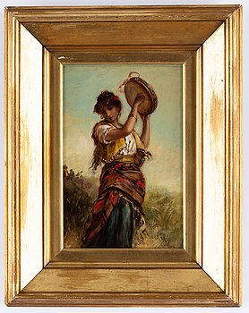 Thomas Kent Pelham, oil on canvas, signed.