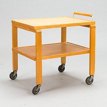 Alvar Aalto, a 1940's '99' tea trolley for O.Y. Huonekalu- ja Rakennustyötehdas A.B.
