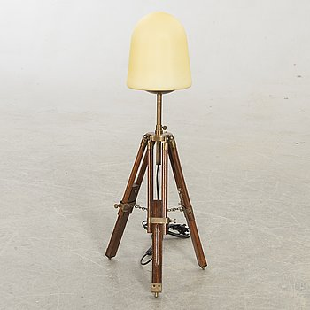 Table lamp, later part of the 20th century.