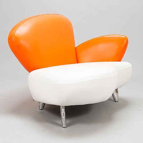 A 21st century canapé/ armchair for poltromec, italy.