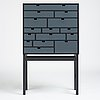 """Kerstin olby, a """"rhapsody"""" cabinet by olby design, a unique prototype, sweden 2010."""