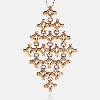 Elis Kauppi, A 14K gold necklace. Kupittaan kulta, Turku.