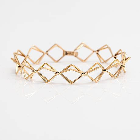 Elis kauppi, a 14k gold bracelet. kupittaan kulta, turku.