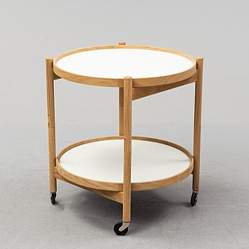 A seconf half of the 20th-century serving trolley by Torben Ørskov & Co, Denmark.