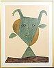 Pablo picasso, after, litographie/pochoir, published by jacomet, au pont des arts, paris 1960.