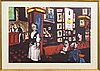 Peter dahl, lithograph in colours, signed 268/375.