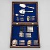 A 35-piece 'chippendale' silver cutlery set, auran kultaseppä oy, turku finland1986.